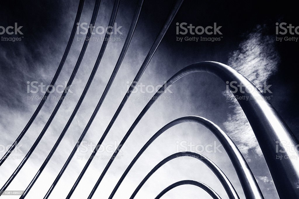 Abstract Pipes stock photo