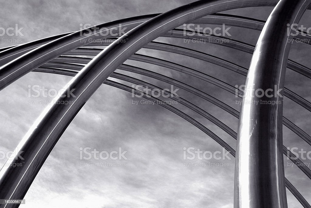Abstract Pipes royalty-free stock photo