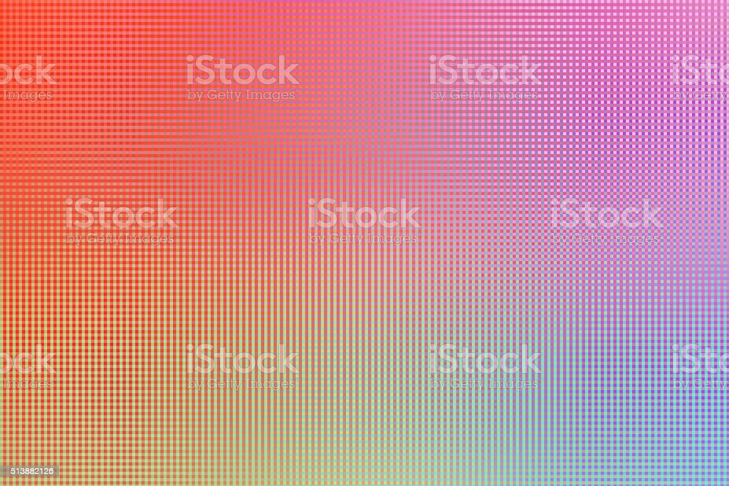 Abstract Pixel Rose Quarz Pattern Background stock photo