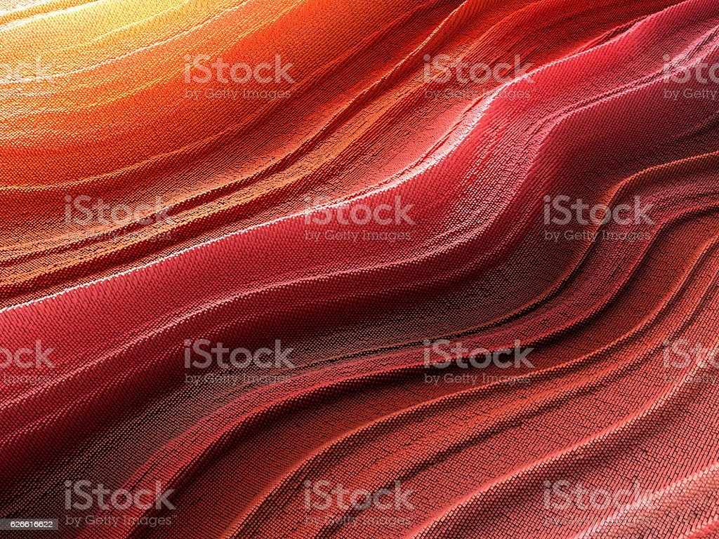 abstract pixelated wave stock photo