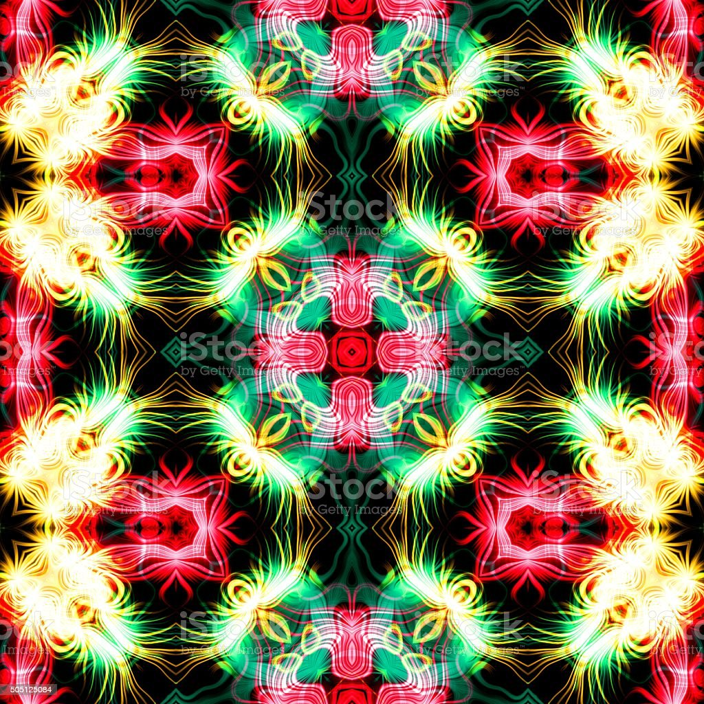 Abstract plasma discharge as a background. Psychedelic color image. stock photo