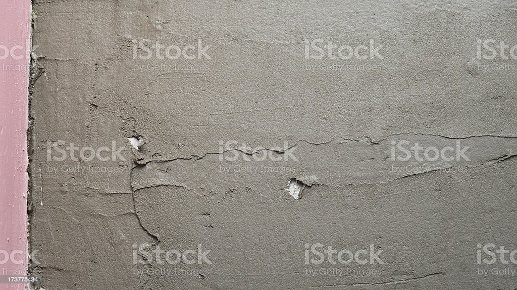 Abstract plaster stucco wall Construction adhesive background stock photo
