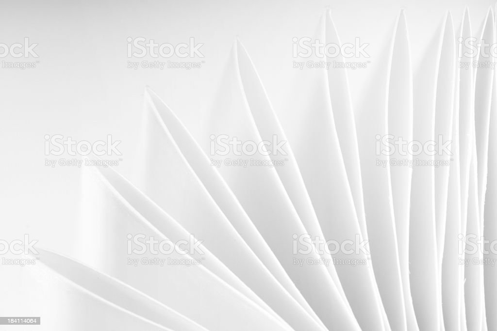 Abstract Pointed Paper Background royalty-free stock photo