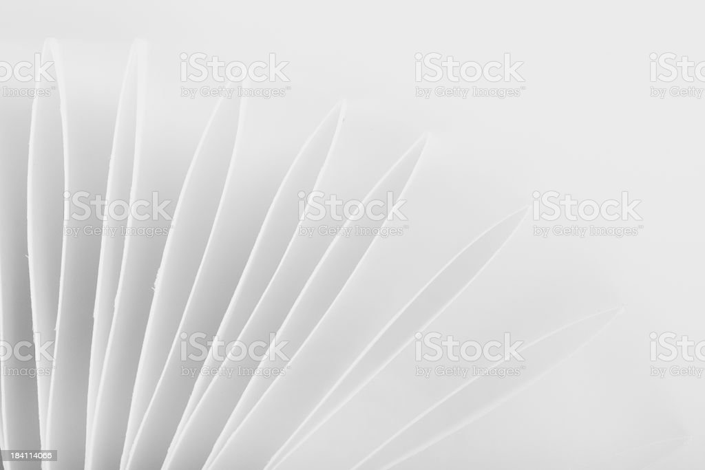 Abstract Pointed Paper Background stock photo