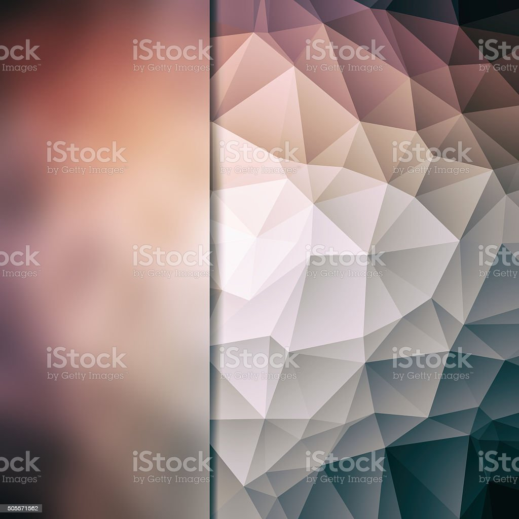 Abstract poligon background stock photo
