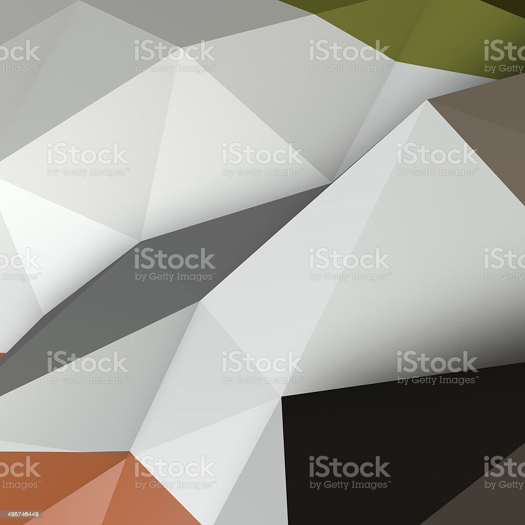 Abstract polygon background. royalty-free stock photo