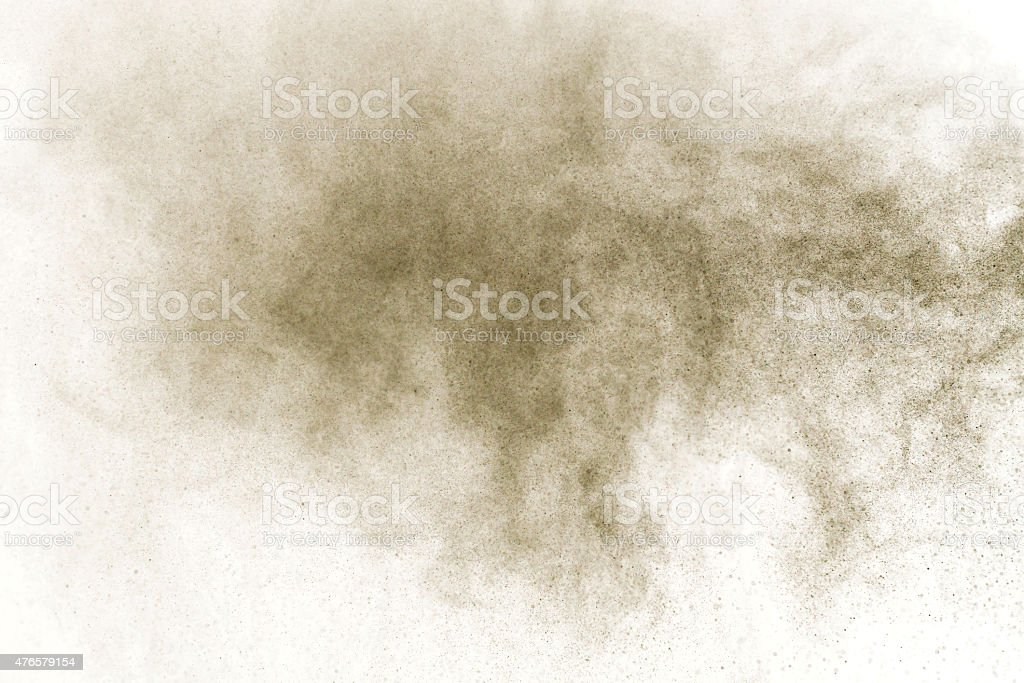 Abstract powder cloud design stock photo