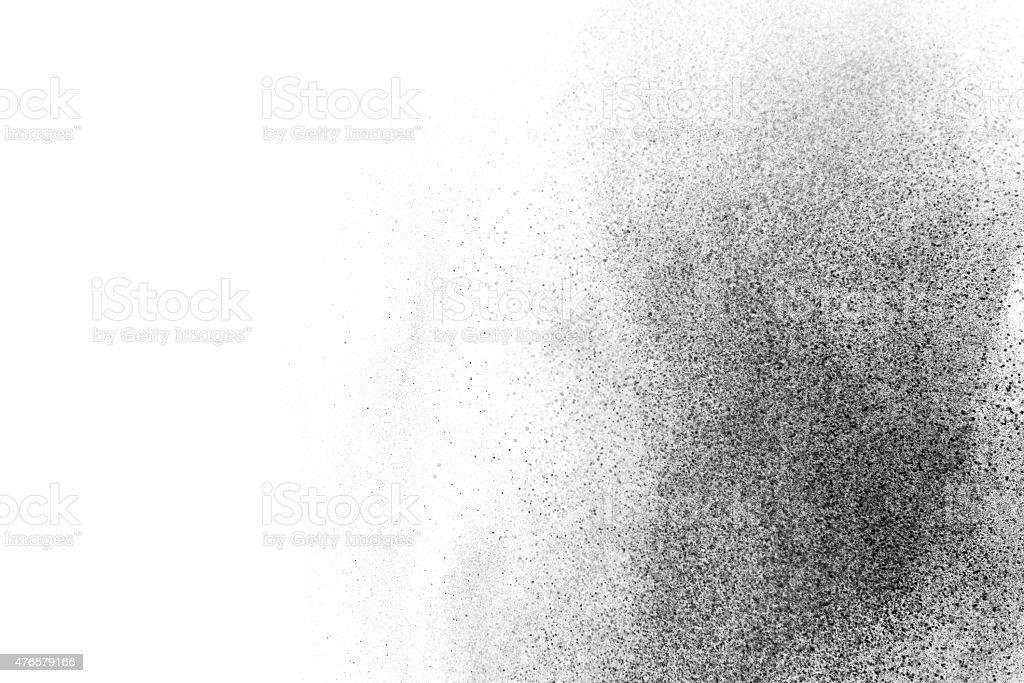 Abstract powder cloud design stock photo
