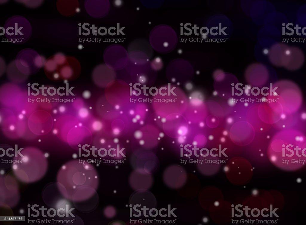 abstract purple bokeh light background stock photo