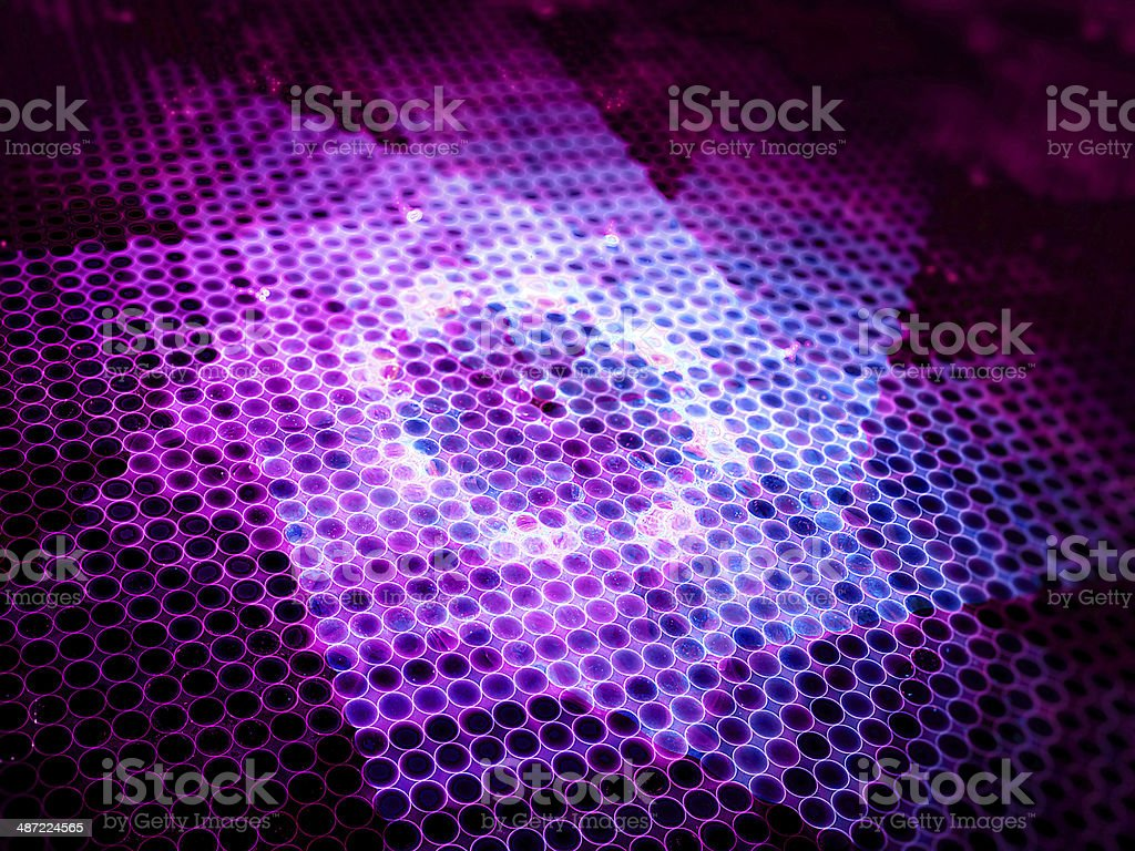 Abstract purple star royalty-free stock photo