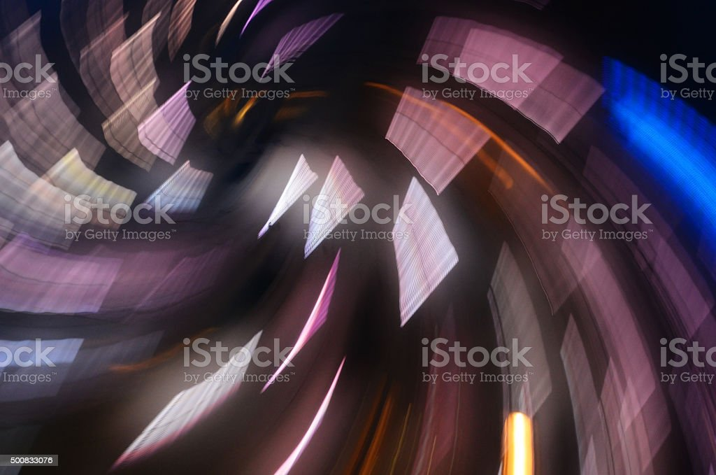 abstract radial electronic design stock photo