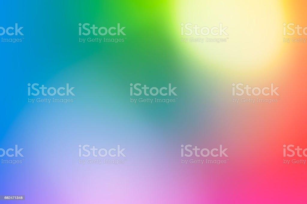 Abstract rainbow background stock photo