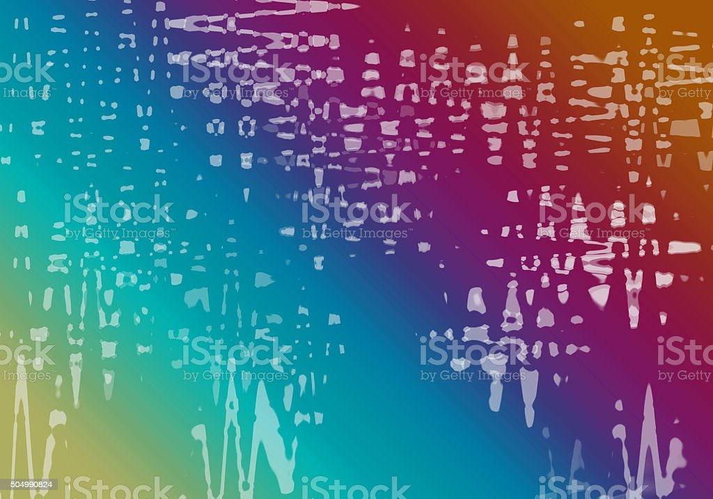 Abstract rainbow color background with splashes stock photo
