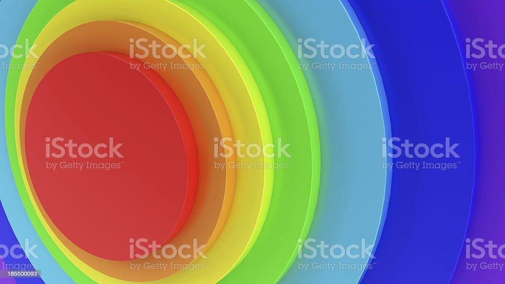 Abstract rainbow royalty-free stock photo