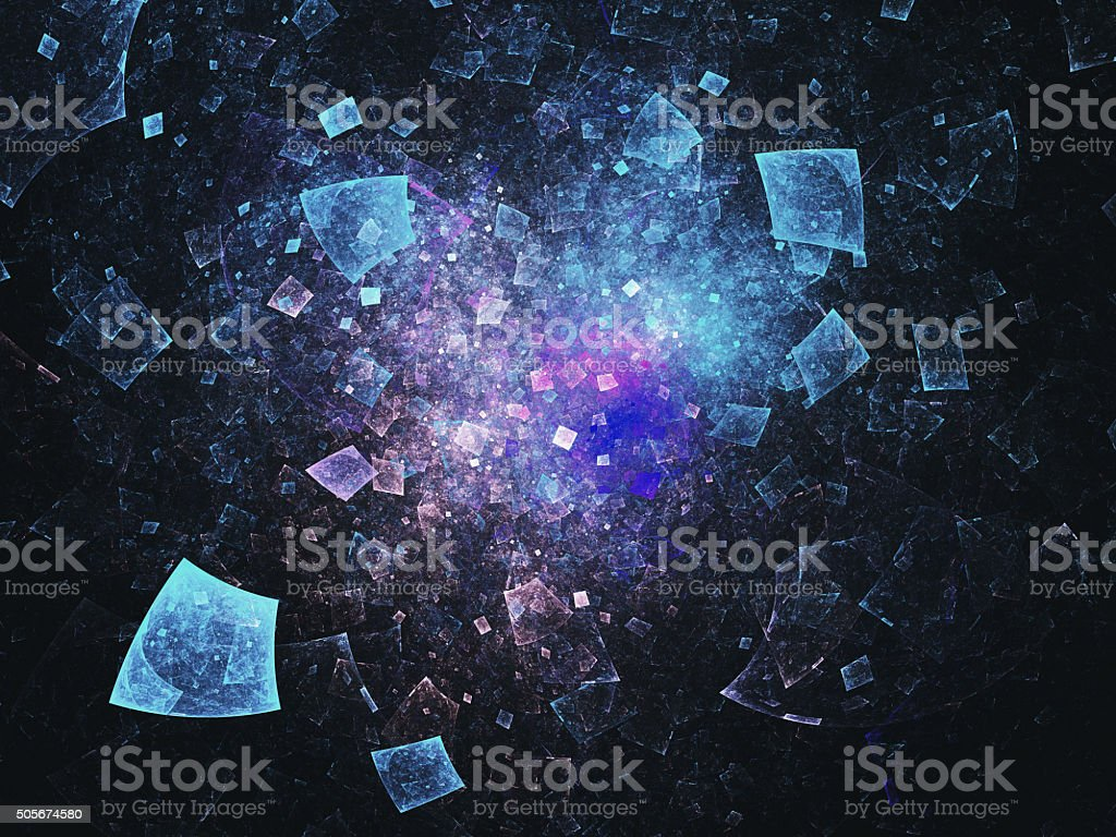 Abstract rectangles background stock photo