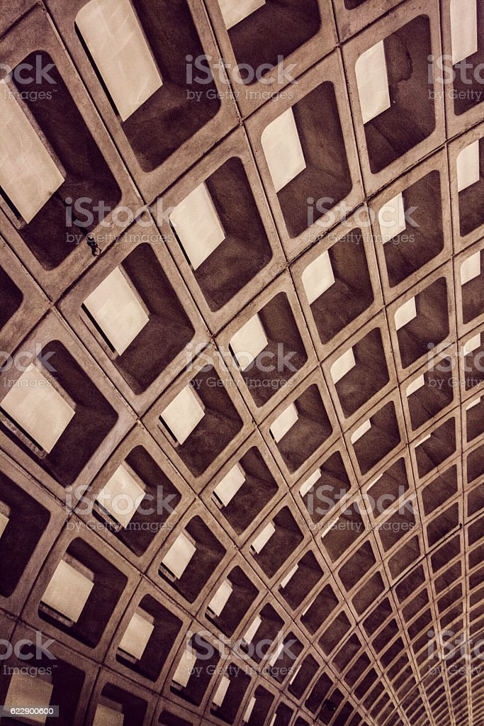Abstract Rectangular Pattern stock photo