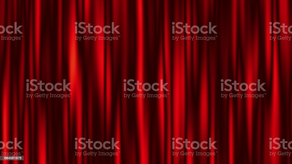 Abstract Red Background with Stripes.  Minimal Banner. stock photo