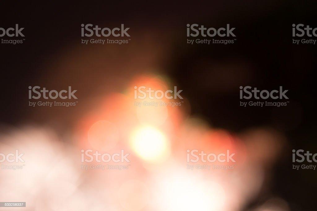 Абстрактный красный Яркий свет автомобиль blur ночью дорожных фоне Стоковые фото Стоковая фотография