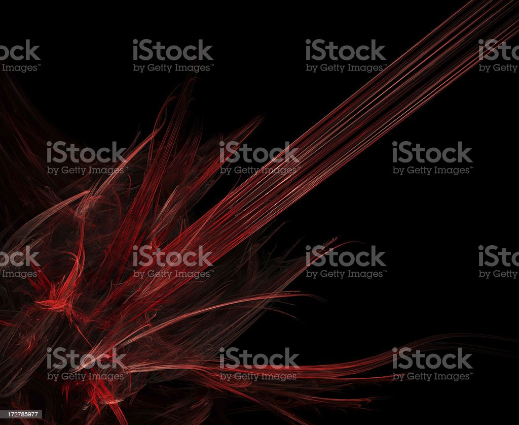 abstract red flames royalty-free stock photo