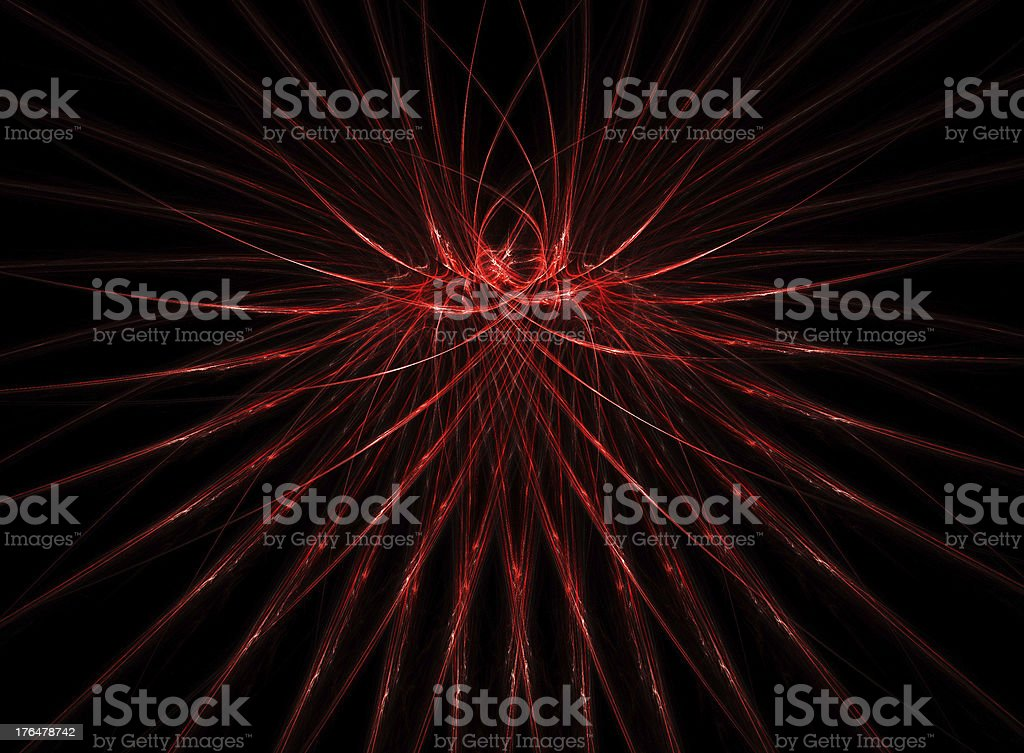 abstract red lines royalty-free stock photo