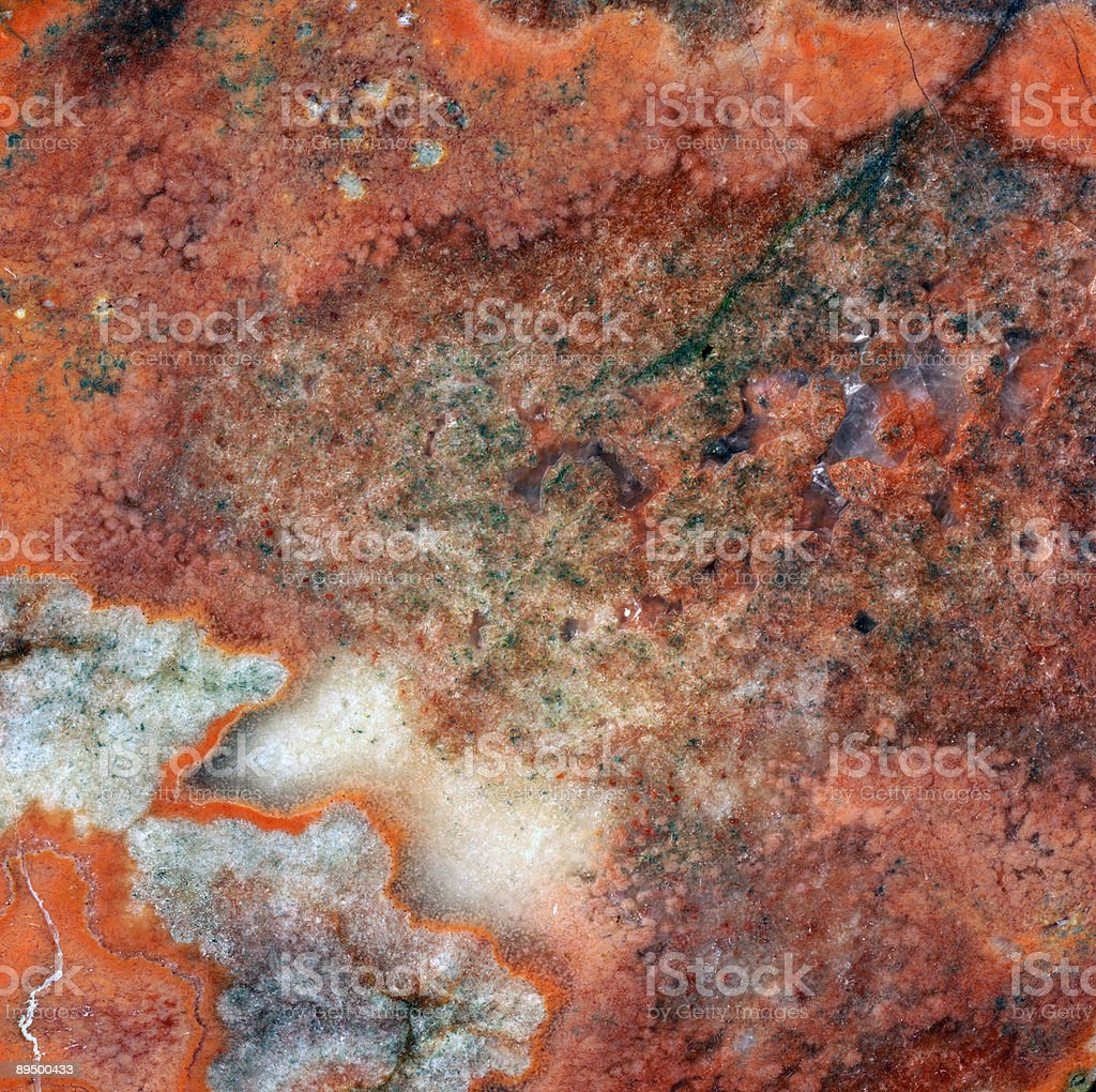 abstract red mineral structure royalty-free stock photo