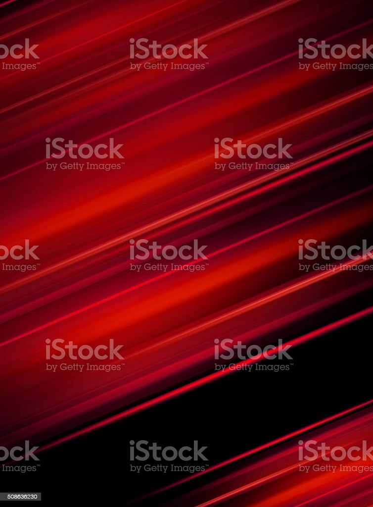 Abstract red on black background. - business card stock photo