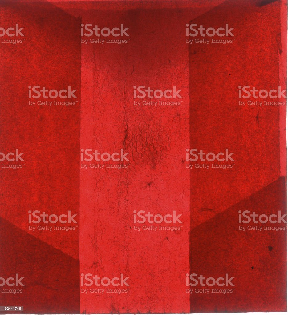 abstract red veiny paper stock photo
