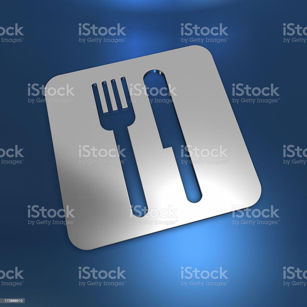 abstract restaurant royalty-free stock photo