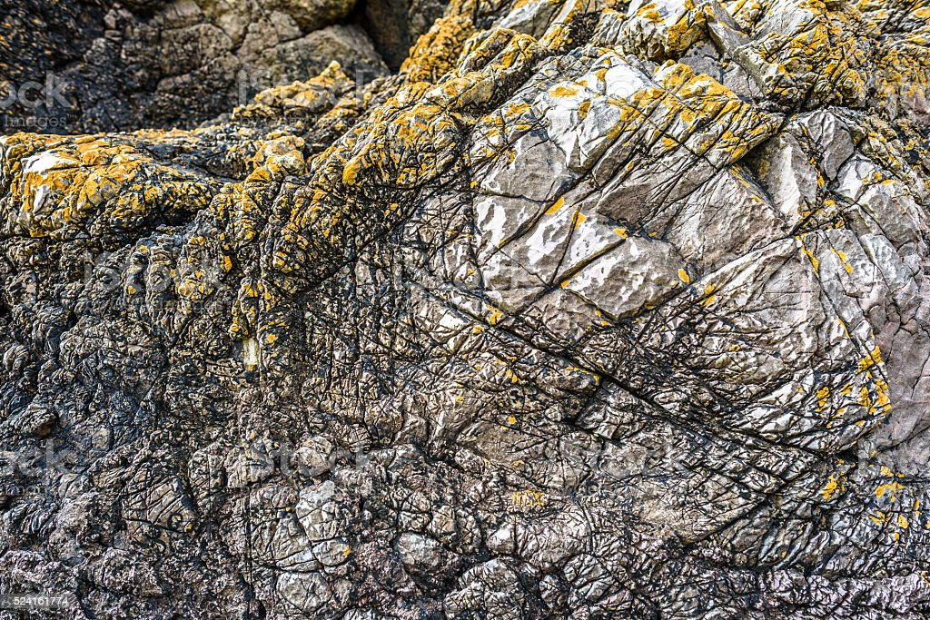Abstract Rock Formation stock photo