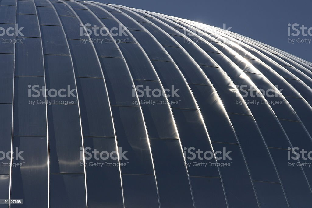 Abstract Roof Reflection 2 stock photo