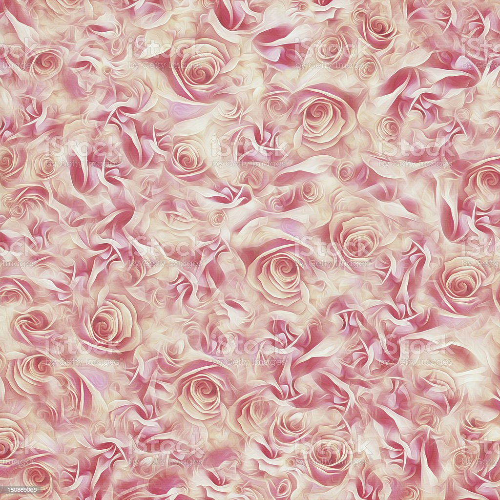 Abstract Roses Background royalty-free stock photo