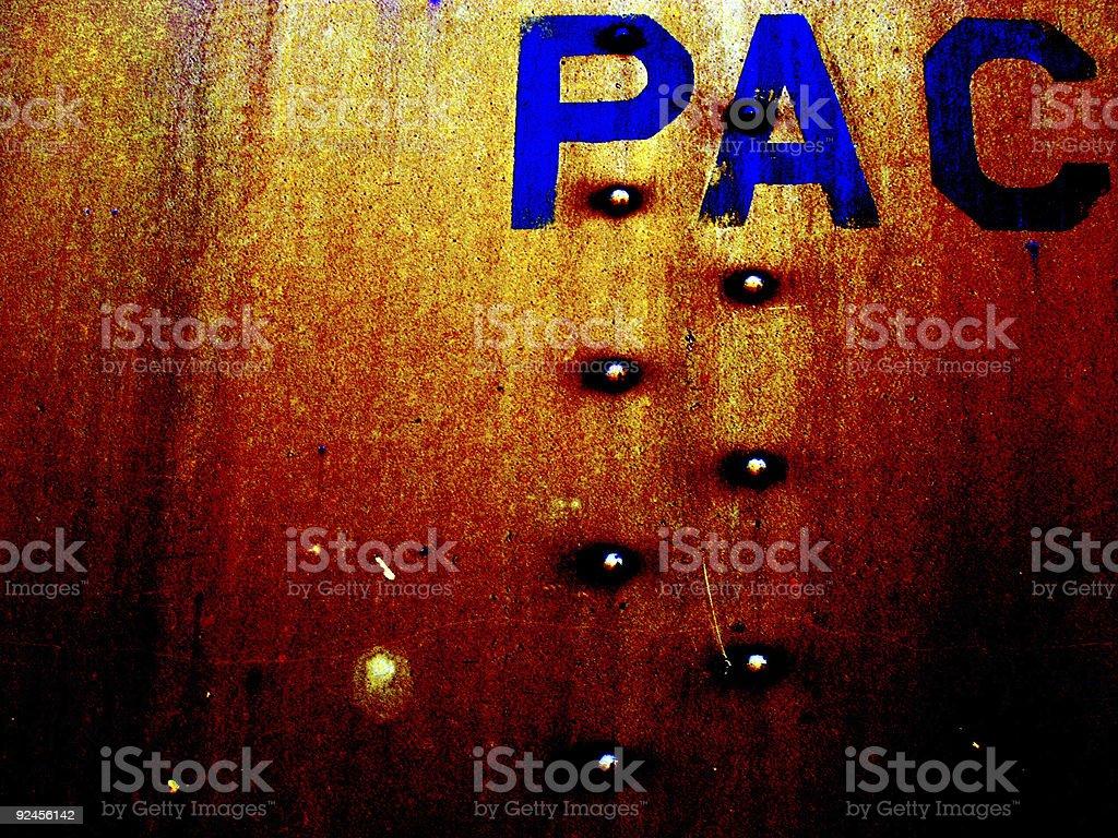Abstract - Rusty Grunge stock photo