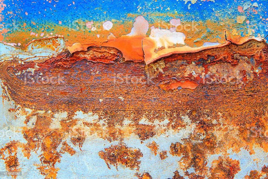 Abstract rusty metal for background royalty-free stock photo