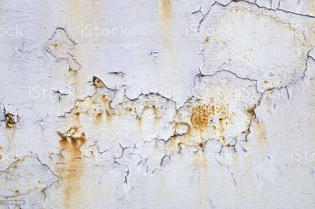 Abstract Rusty Metal Texture royalty-free stock photo