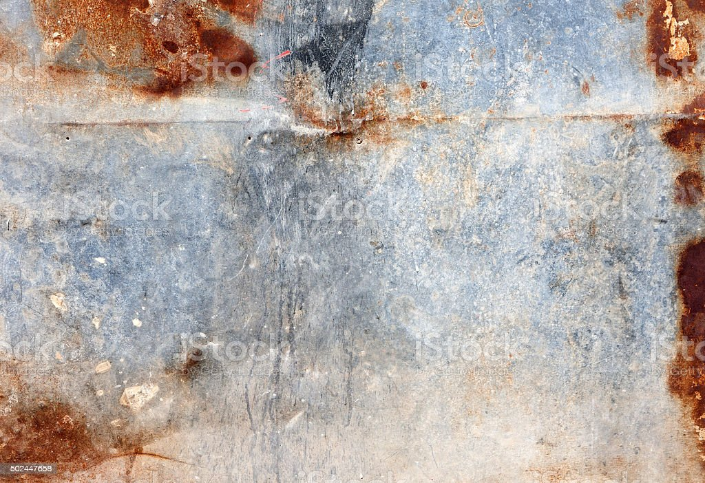 abstract rusty metal wall texture background stock photo