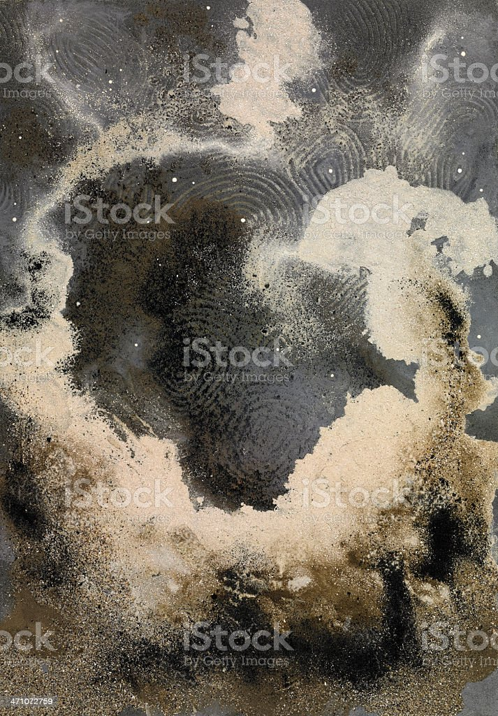 Abstract Sand royalty-free stock photo