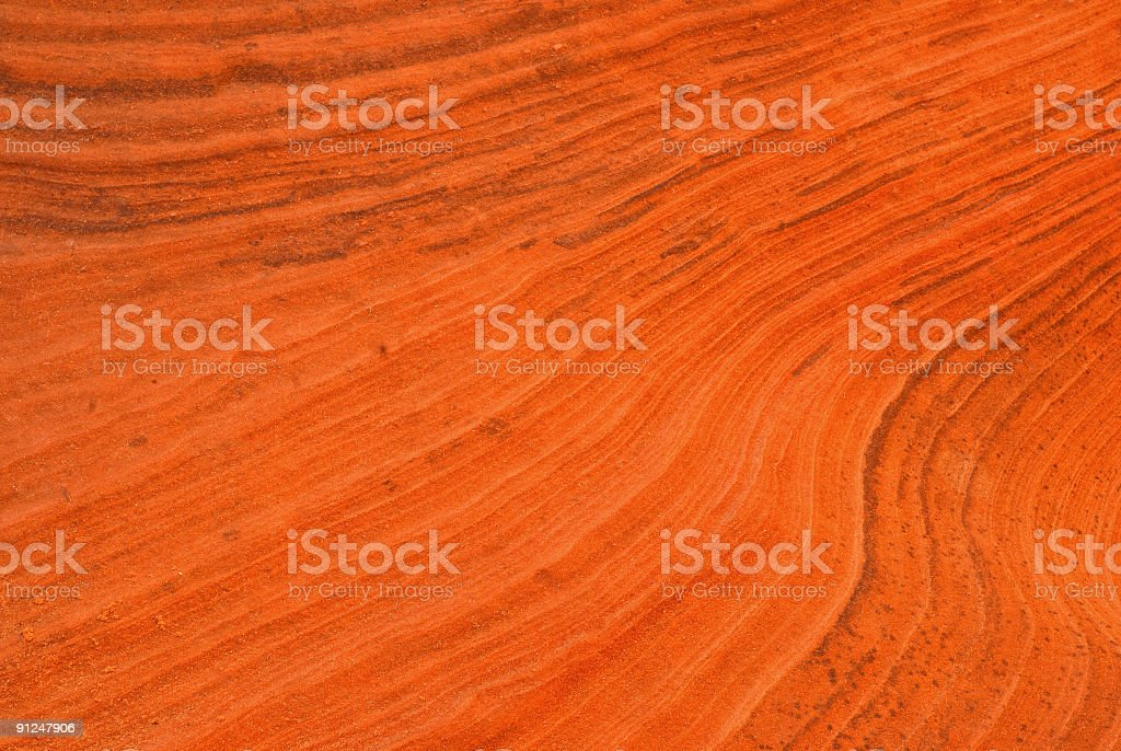abstract sandstone wave royalty-free stock photo