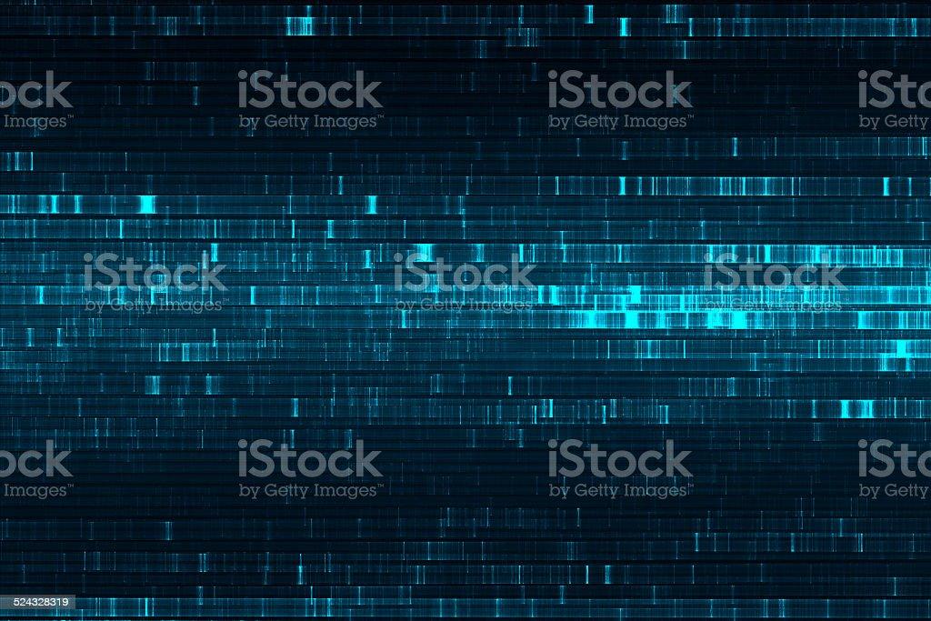Abstract science fiction matrix like background stock photo