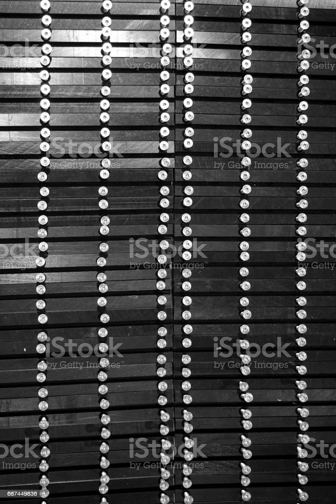 abstract screw field stock photo