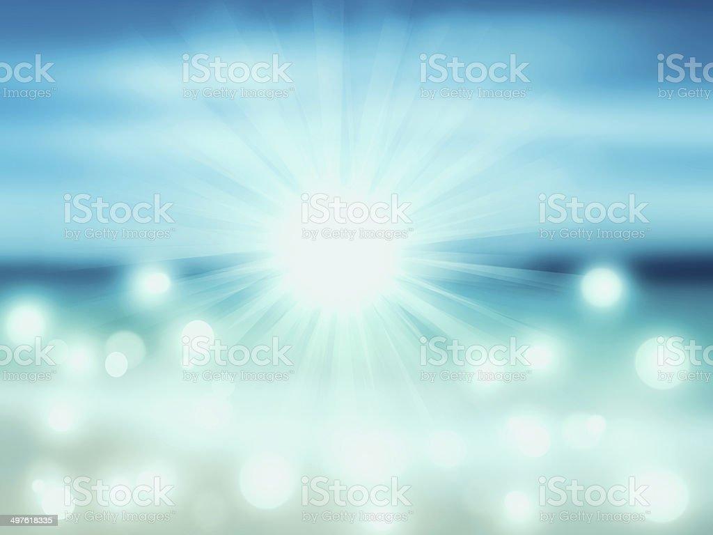 Abstract sea seascape stock photo