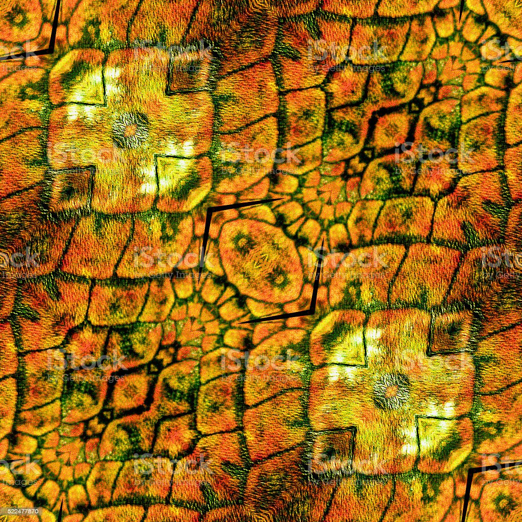 Abstract seamless rough pattern with snake texture of scales stock photo