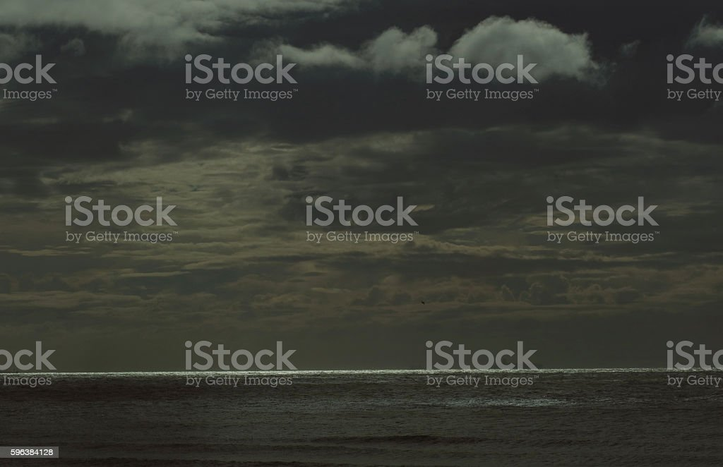 Abstract seascape 1 stock photo