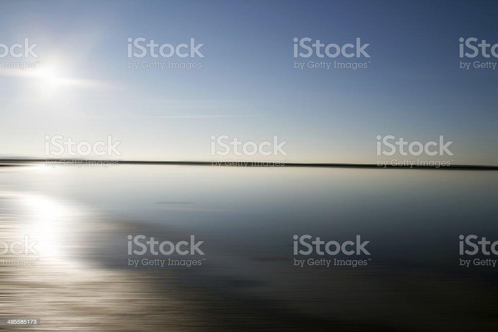 abstract seashore stock photo