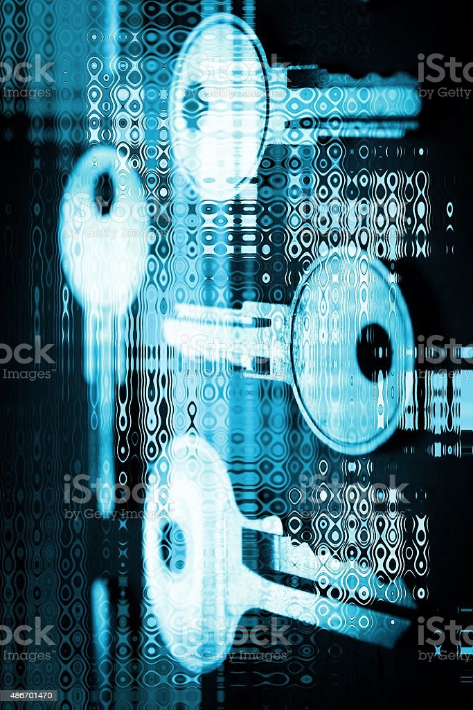 Abstract security stock photo