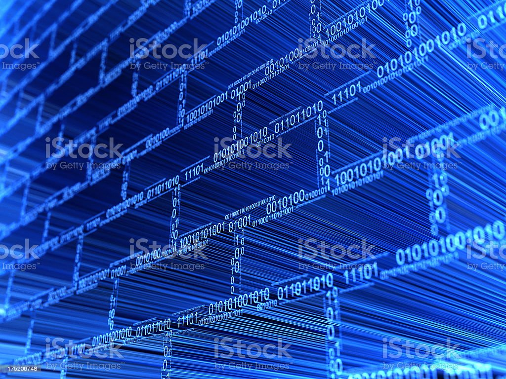 abstract security system stock photo