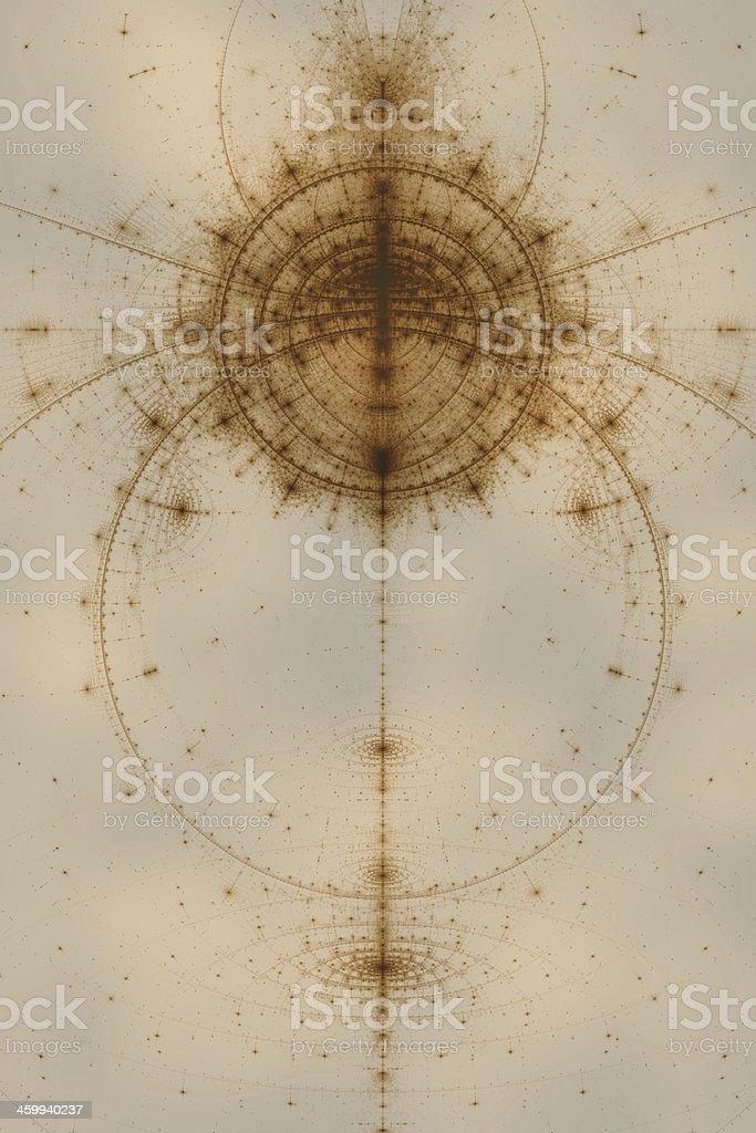 Abstract sepia theme stock photo