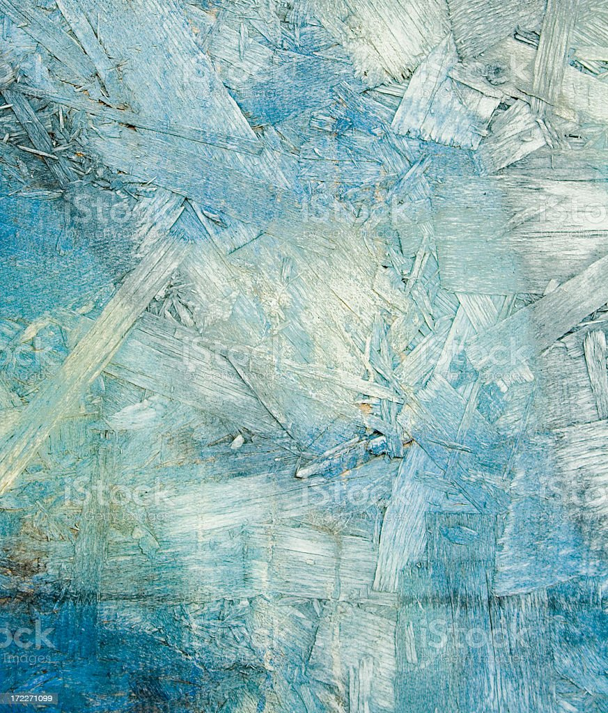 Abstract Shapes and Lines in Shades of Blue stock photo