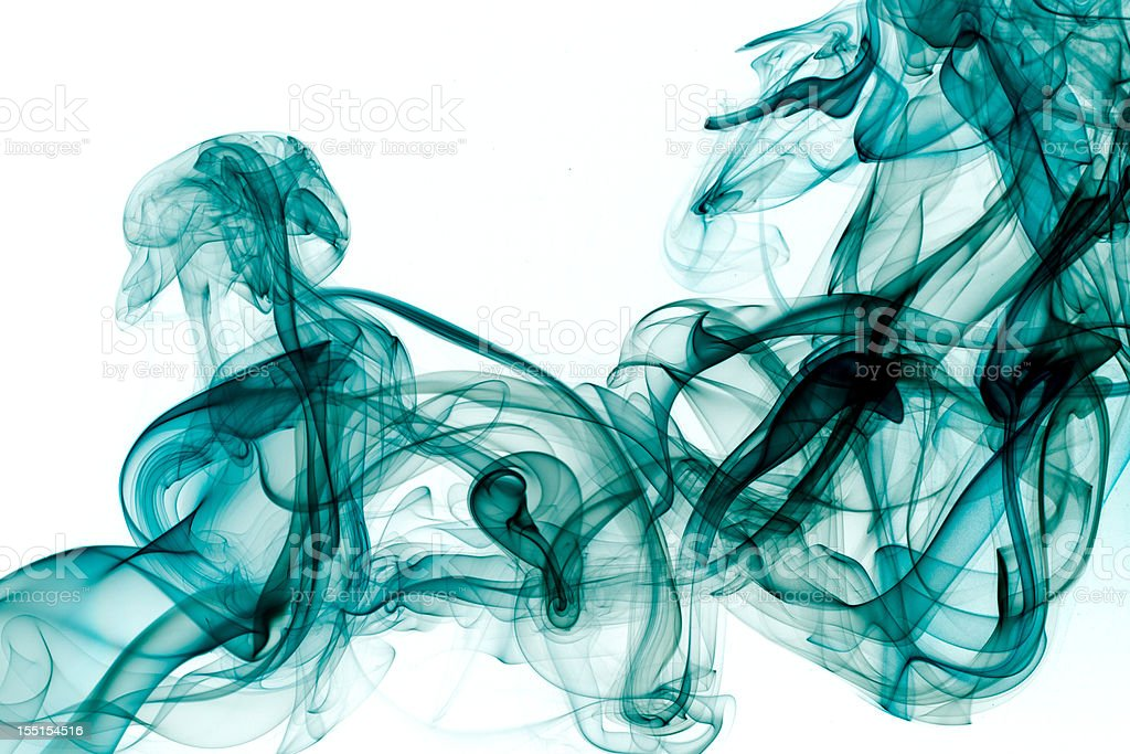 Abstract shapes. Smoke. royalty-free stock photo