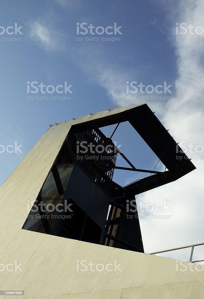 抽象船の煙突 ロイヤリティフリーストックフォト