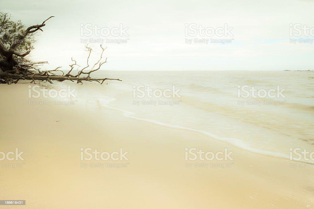 Abstract Shoreline royalty-free stock photo